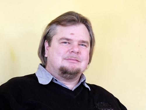 Artur Jabłoński ze stowarzyszenia Kaszëbskô Jednota