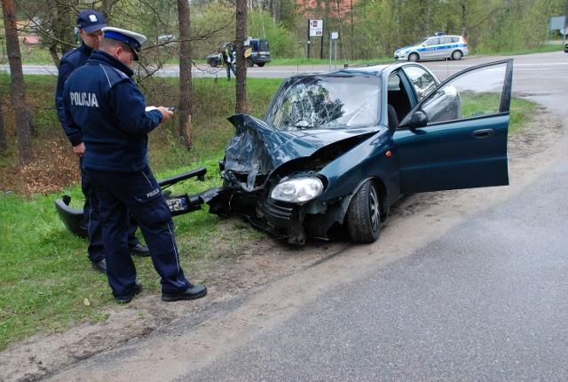 Groźny wypadek w Piaśnicy