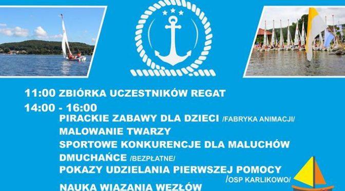 Rozpoczęcie sezonu żeglarskiego w Lubkowie
